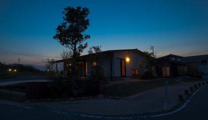菜園付平屋の家
