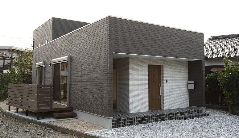 平屋と2階建てのツーボックスハウス